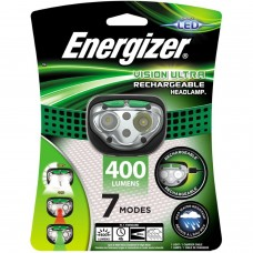 ENERGIZER HEADLIGHT 400 LUMENS RECHARGEABLE