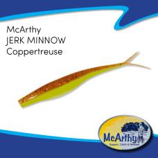 "McArthy Jerk Minnow 4"" COPPERTREUSE 10P/P"
