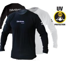 Long Sleeve Cotton T-Shirt with Daiwa Logo