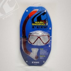 Reef Hydro adult mask and snorkel combo - Red