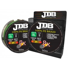 JDB  8X Surf Leader 100lb 0.43mm 50m