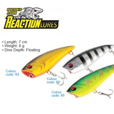 REACTION LURES MONSTER POP 70 COLOR 01