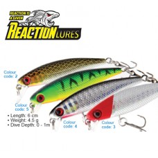 REACTION LURES RATTLING MINNOW 60 COLOR 02
