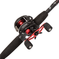 ABU BLACK MAX3 BAITCAST Rod & Reel combo 7ft MH 1pc