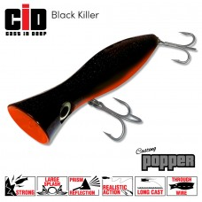 CID Casting Popper - Black Killer 120MM 43G