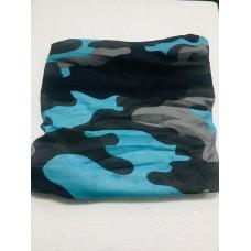 SENSATION NECK WRAP BLUE/GREY CAMO BUFF