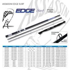 Assassin Rod Reel Combo: EDGE Surf  2pc 10ft SB (2-4oz) with OKUMA  Revenger Pro X 55 Reel