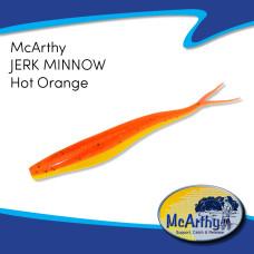 "McArthy Jerk Minnow 5"" HOT ORANGE 8P/P"