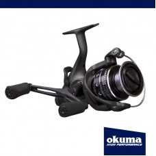 OKUMA BAITFEEDER LONGBOW XR 5b/bearing+spare graphite spool SIZE 540