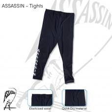 ASSASSIN LYCRA LONG PANTS COLOR -BLACK
