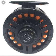 KINGFISHER MAYFLY 560 FLY REEL 5-6wt + FLY Line & Leader