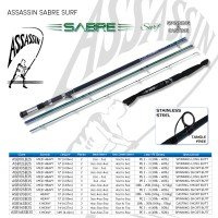 Assassin Sabre Surf 10ft Medium Heavy 2pc Long Butt