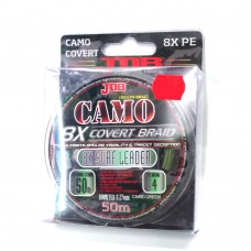 JDB Camo Covert 8X Braid Surf Leader 100lb 0.43mm 50m