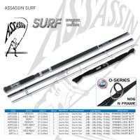 Assassin Surf 12ft Medium Heavy 3pc Short Butt Spinning