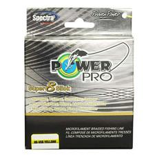 PowerPro Super8Slick HI-VI Yellow 10LB - 80LB