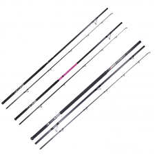 ADRENALIN Rod Reel Combo: TRIPLE X 14ft Spin Rod 6-7oz with Bag + Bionic Finger Fitted with Big Boss III 6000 Reel + 300m 8X Grinder Braid