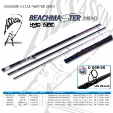 Assassin Combo: BEACHMASTER  3pc 5-7oz  M 14.6ft with Penn Battle II 6000 Reel + 300m Grinder 8X Braid 40LB