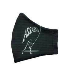 ASSASSIN 2-PLY FACE MASK - Black