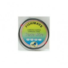 FISHMATE CARBON COATED STAINLESS STEEL TRACE WIRE
