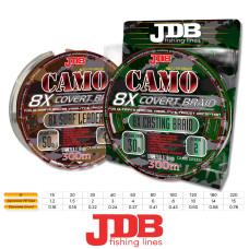 JDB Camo Covert 8X Braid 15LB 1.2 0.16 300m