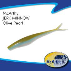 """McArthy Jerk Minnow 4"""" OLIVE PEARL 10P/P"""