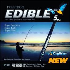 Kingfisher Poseidon Edible Rod 14.6ft Spin 5oz