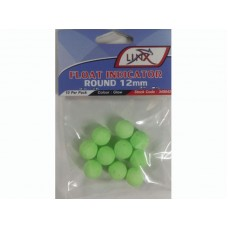 Linx Float Indicator  Round 12mm Green